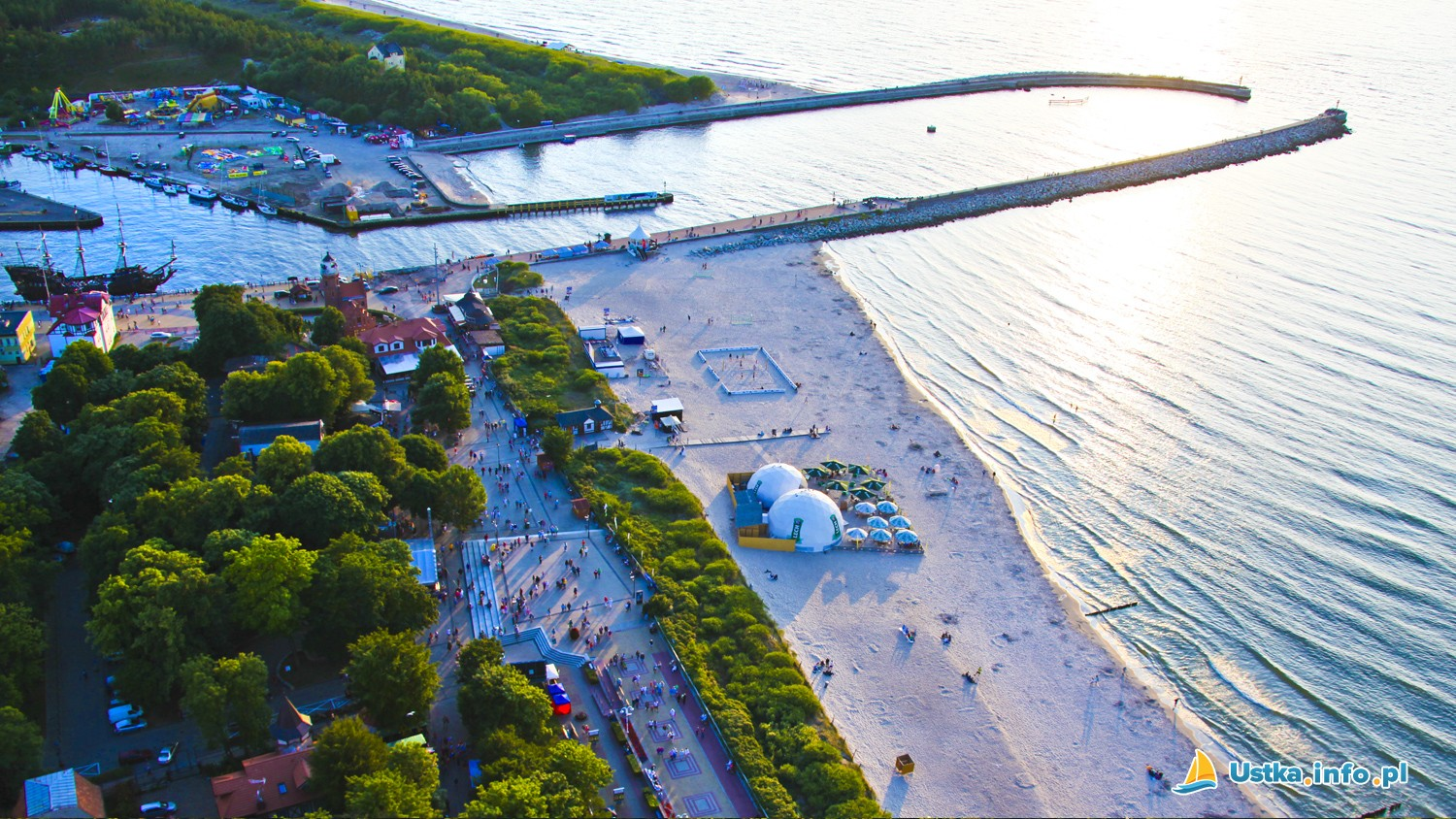 Ustka-beach-Poland