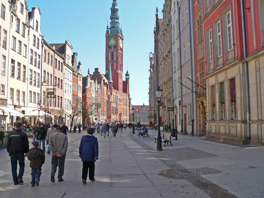 dlugi-targ-long-market-gdansk-poland