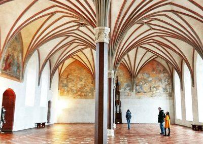 Great Refectory inside Malbork Castle