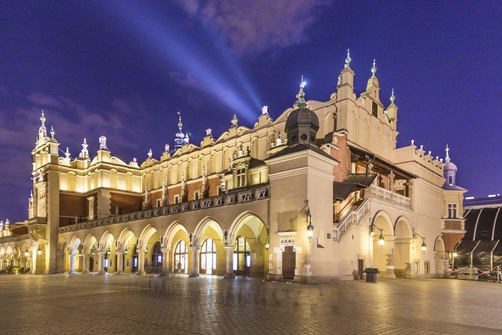 Sukiennice-Cloth-Hall-Krakow-Main-Square-Poland