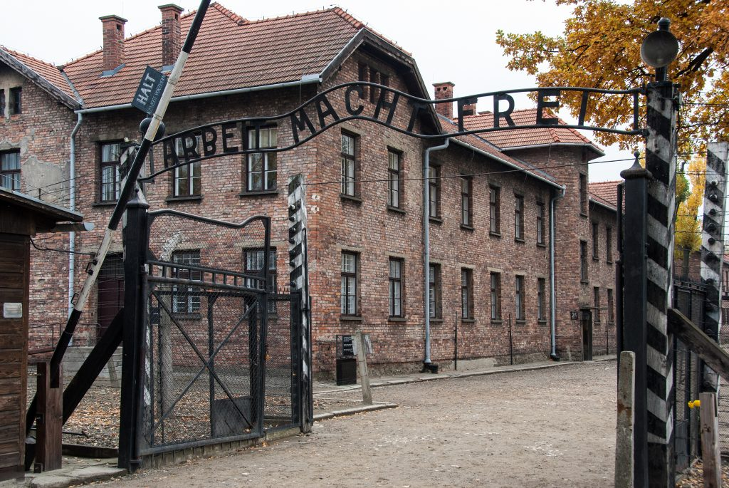 Entrance-to-auschwitz-concentration-camp-1-poland